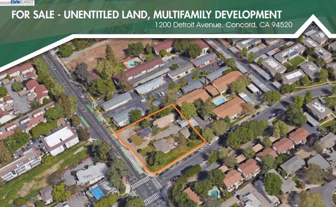Land for Sale at 1200 Detroit Avenue Concord, California 94520 United States