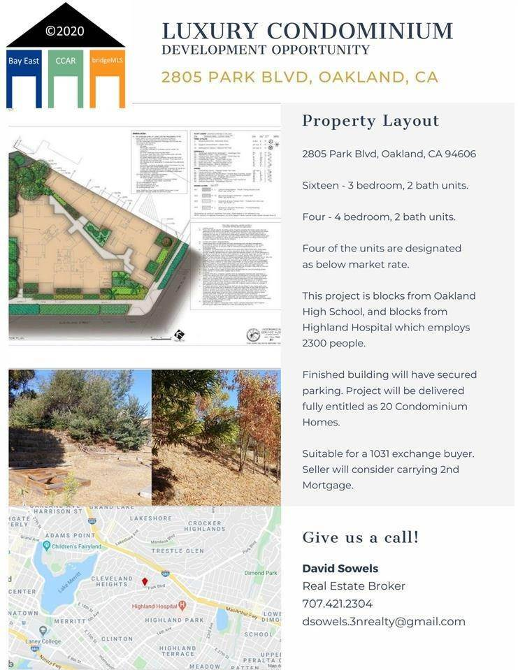 3. Land for Sale at 2805 Park Blvd Oakland, California 94610 United States
