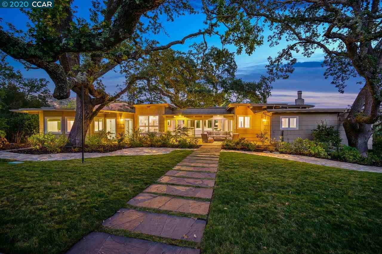 Single Family Homes for Sale at 3683 Happy Valley Road Lafayette, California 94549 United States