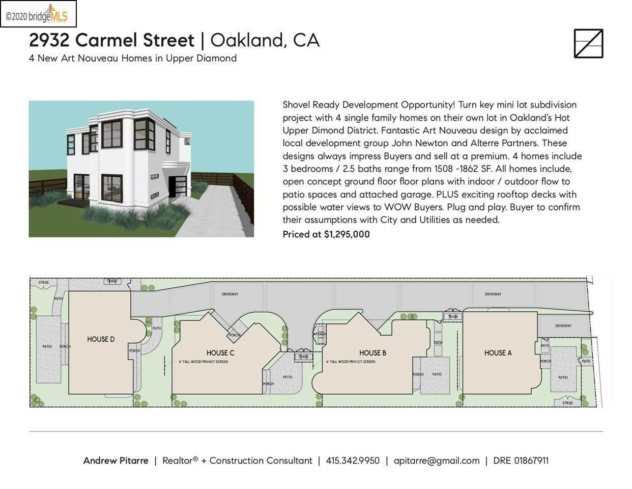 Property for Sale at 2932 Carmel Street Oakland, California 94602 United States