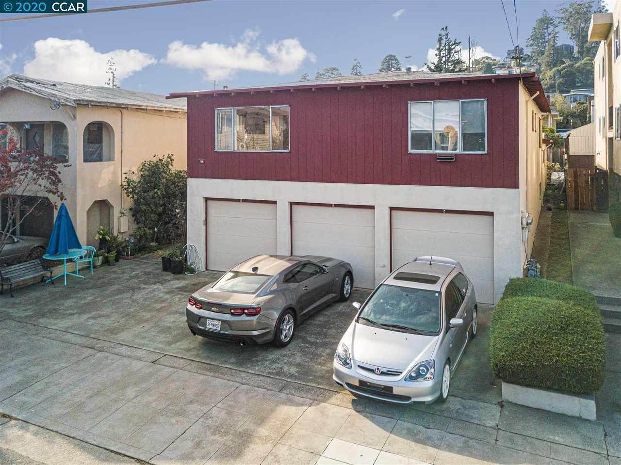 Multi-Family Homes pour l Vente à 734 Adams Street Albany, Californie 94706 États-Unis