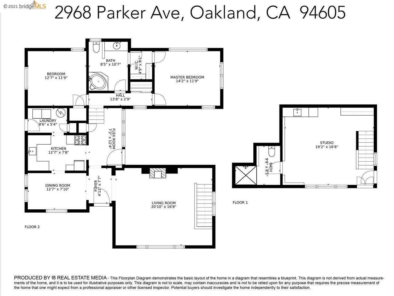 4. Single Family Homes for Sale at 2968 Parker Avenue Oakland, California 94605 United States
