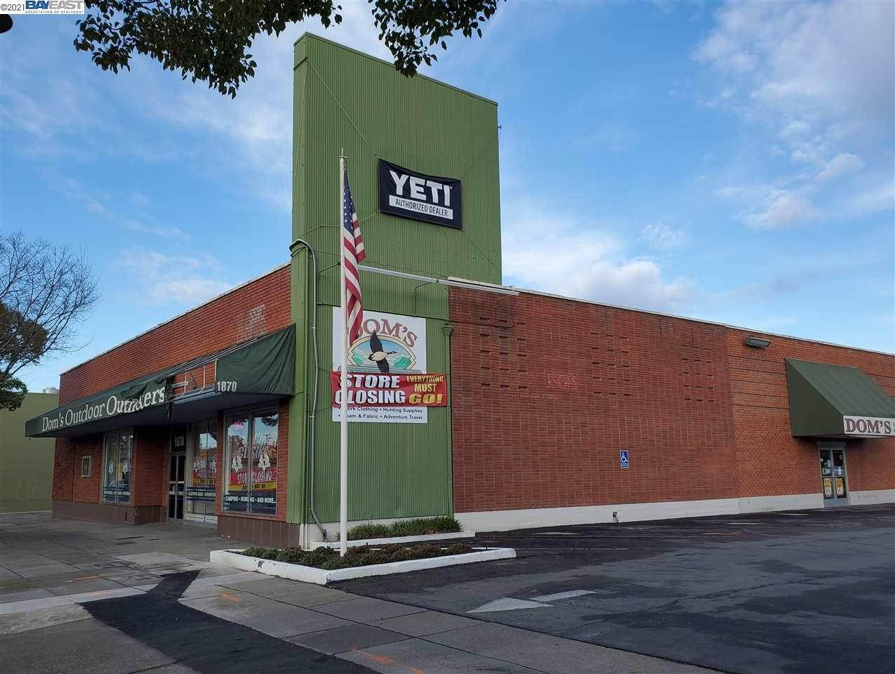 Commercial for Sale at 1870 1St Street Livermore, California 94550 United States