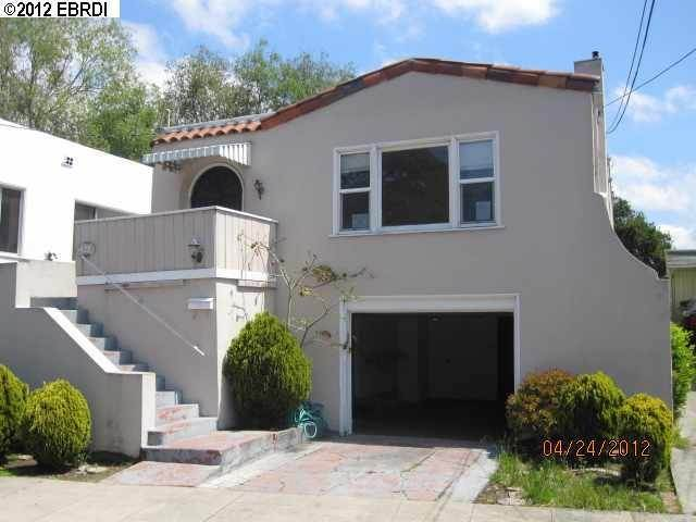 Single Family Homes at 3422 ADELL Court Oakland, California 94602 United States