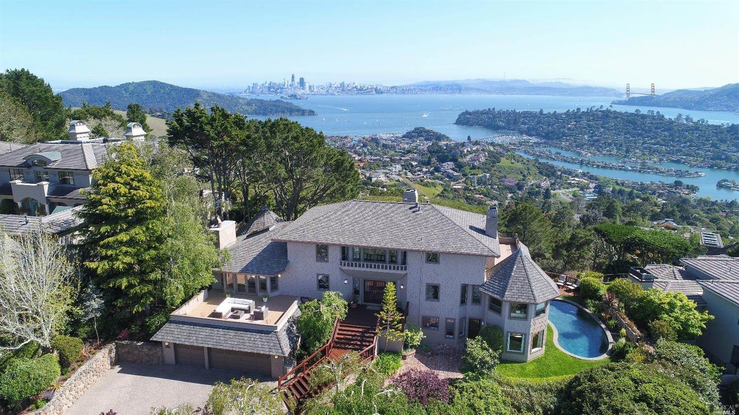 Single Family Homes at 15 Place Moulin None Tiburon, California 94920 United States