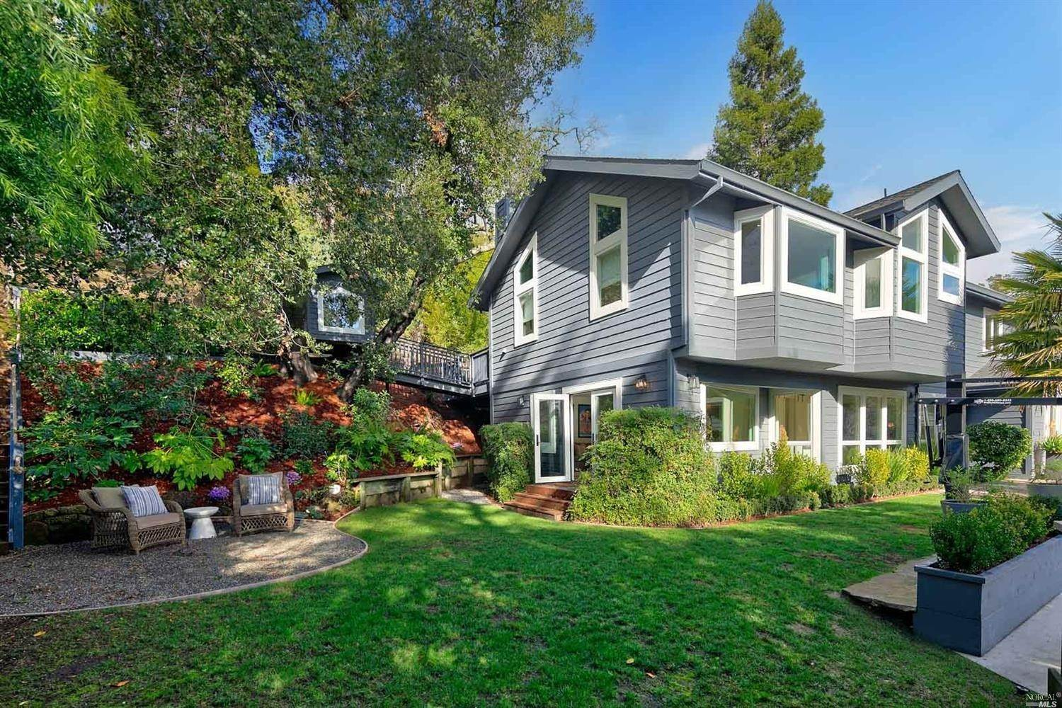 Single Family Homes for Sale at 111 Oak Avenue, Kentfield Kentfield, California 94904 United States