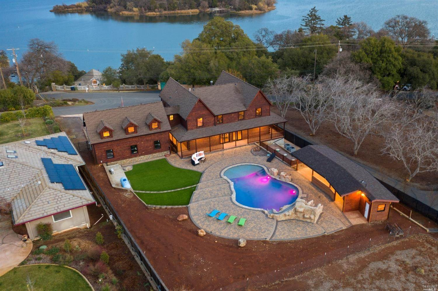 Single Family Homes for Sale at 1785 Eastlake Drive Kelseyville, California 95451 United States
