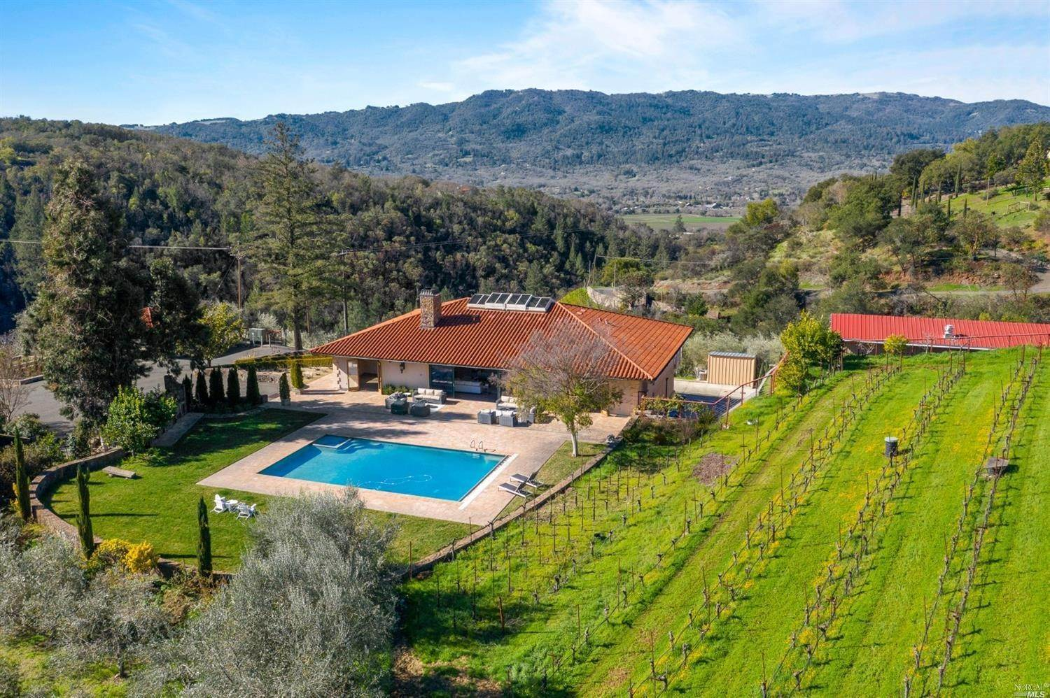 Single Family Homes for Sale at 990 Cavedale Road, Sonoma Sonoma, California 95476 United States