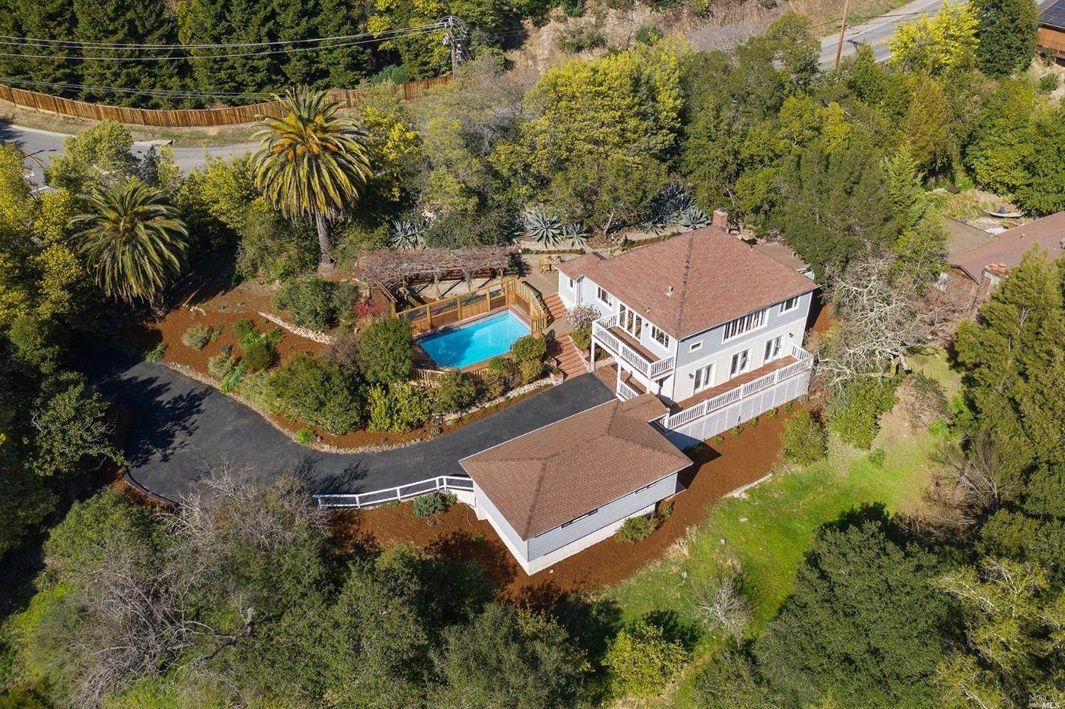Single Family Homes for Sale at 148 Wolfe Grade , Kentfield Kentfield, California 94904 United States