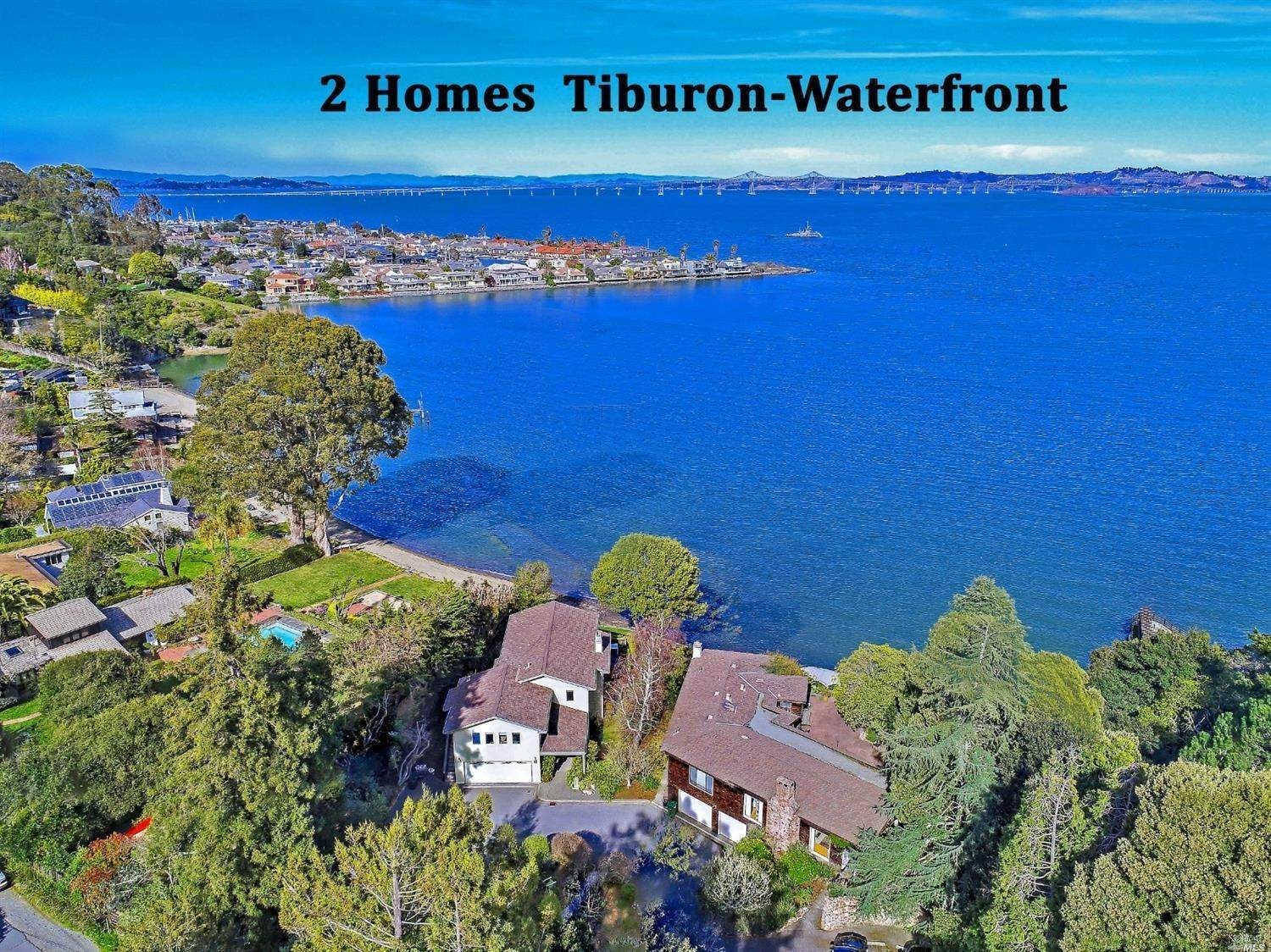 Single Family Homes for Sale at 20 Old Landing Road Tiburon, California 94920 United States