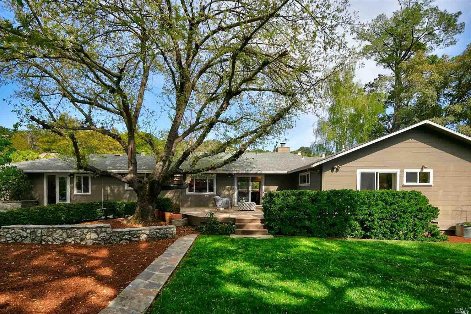 Single Family Homes for Sale at 109 Van Tassel Court, San Anselmo San Anselmo, California 94960 United States