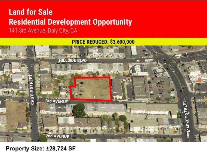 Land for Sale at 141 3rd Avenue Daly City, California 94014 United States
