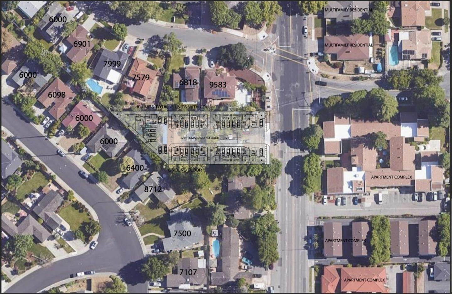 Single Family Homes للـ Sale في 291-295 San Tomas Aquino Road Campbell, California 95008 United States