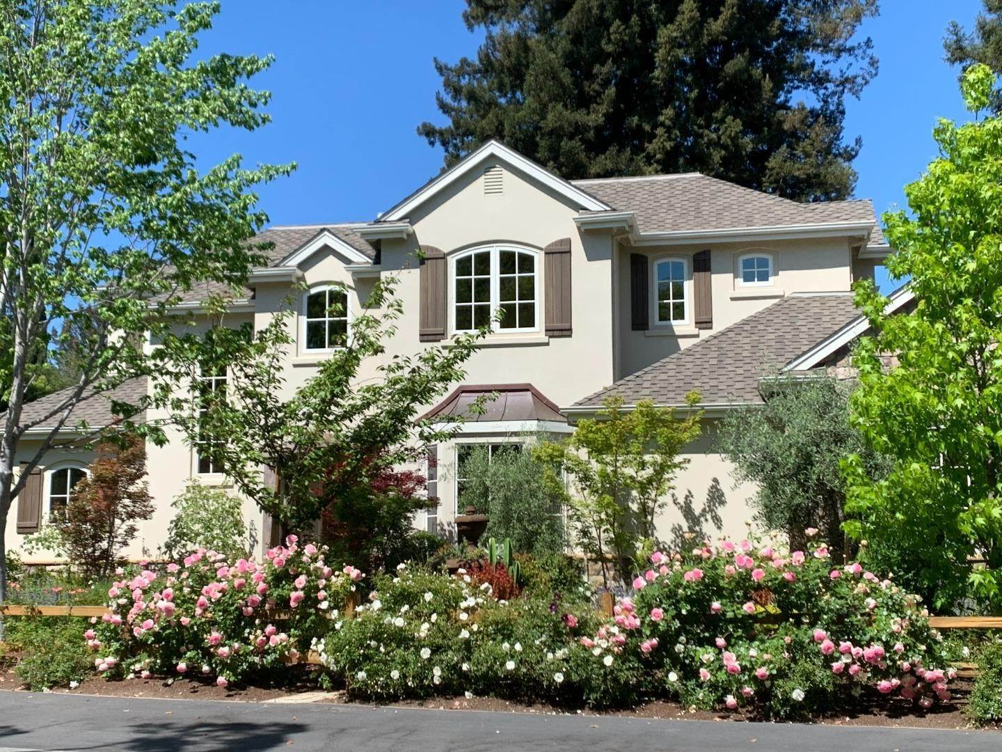 Single Family Homes for Sale at 570 Oakfield Lane Menlo Park, California 94025 United States