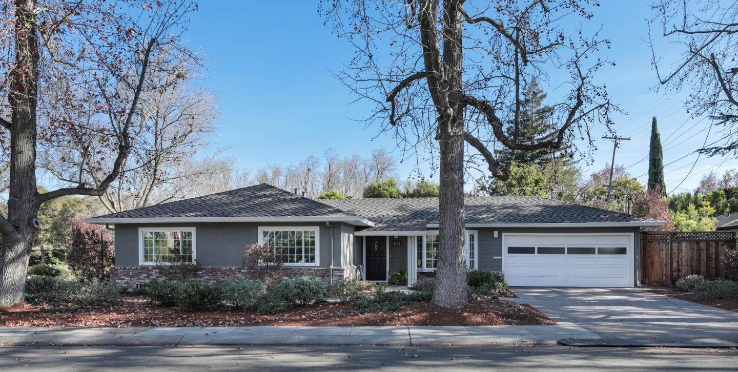 Single Family Homes at 401 Sherwood WAY Menlo Park, California 94025 United States
