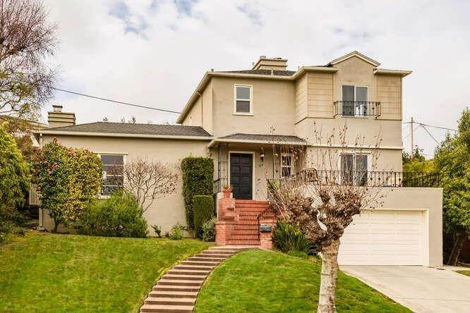 Single Family Homes por un Venta en 68 Camino Alto Millbrae, California 94030 Estados Unidos