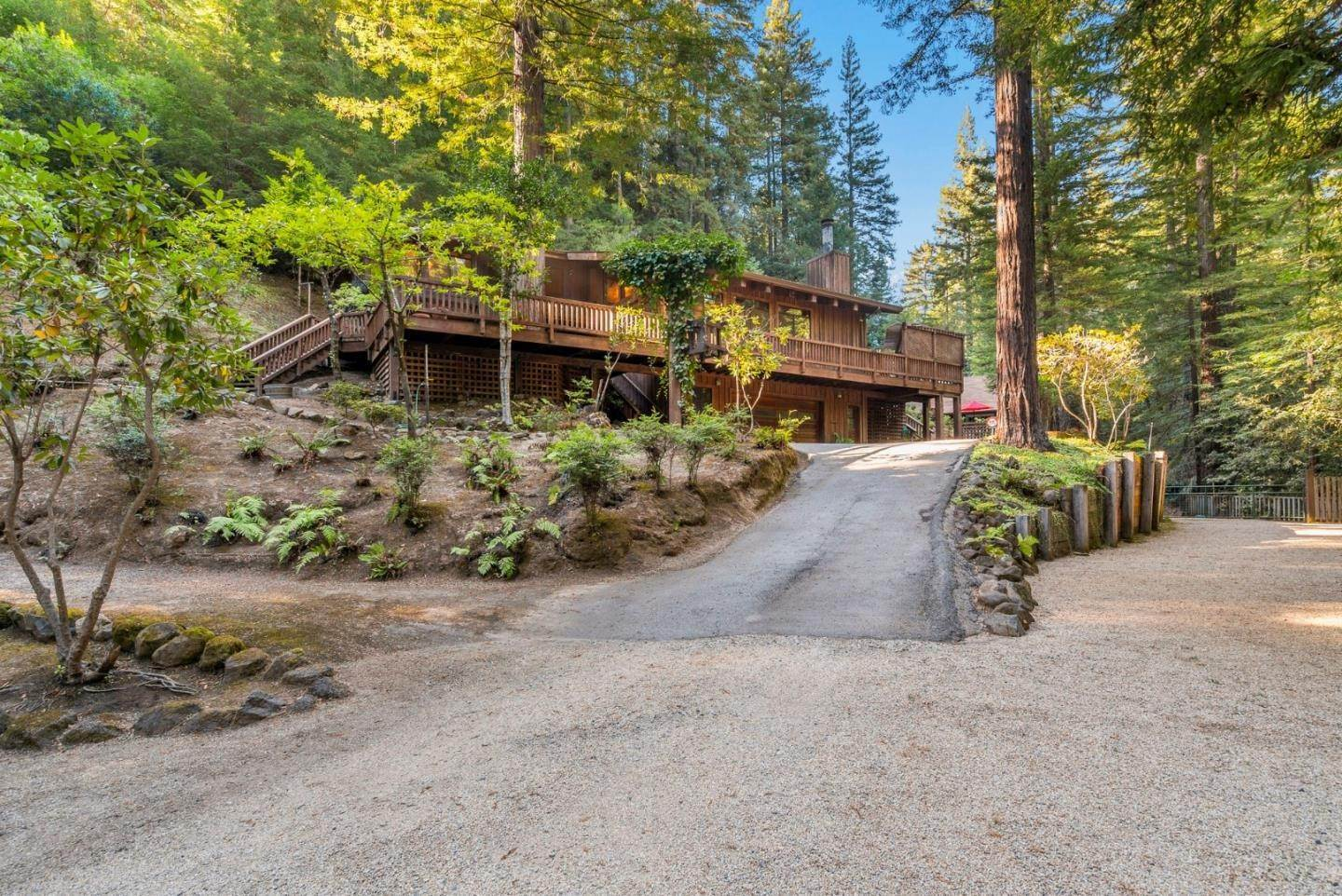 Single Family Homes for Sale at 12101 Love Creek Road Ben Lomond, California 95005 United States
