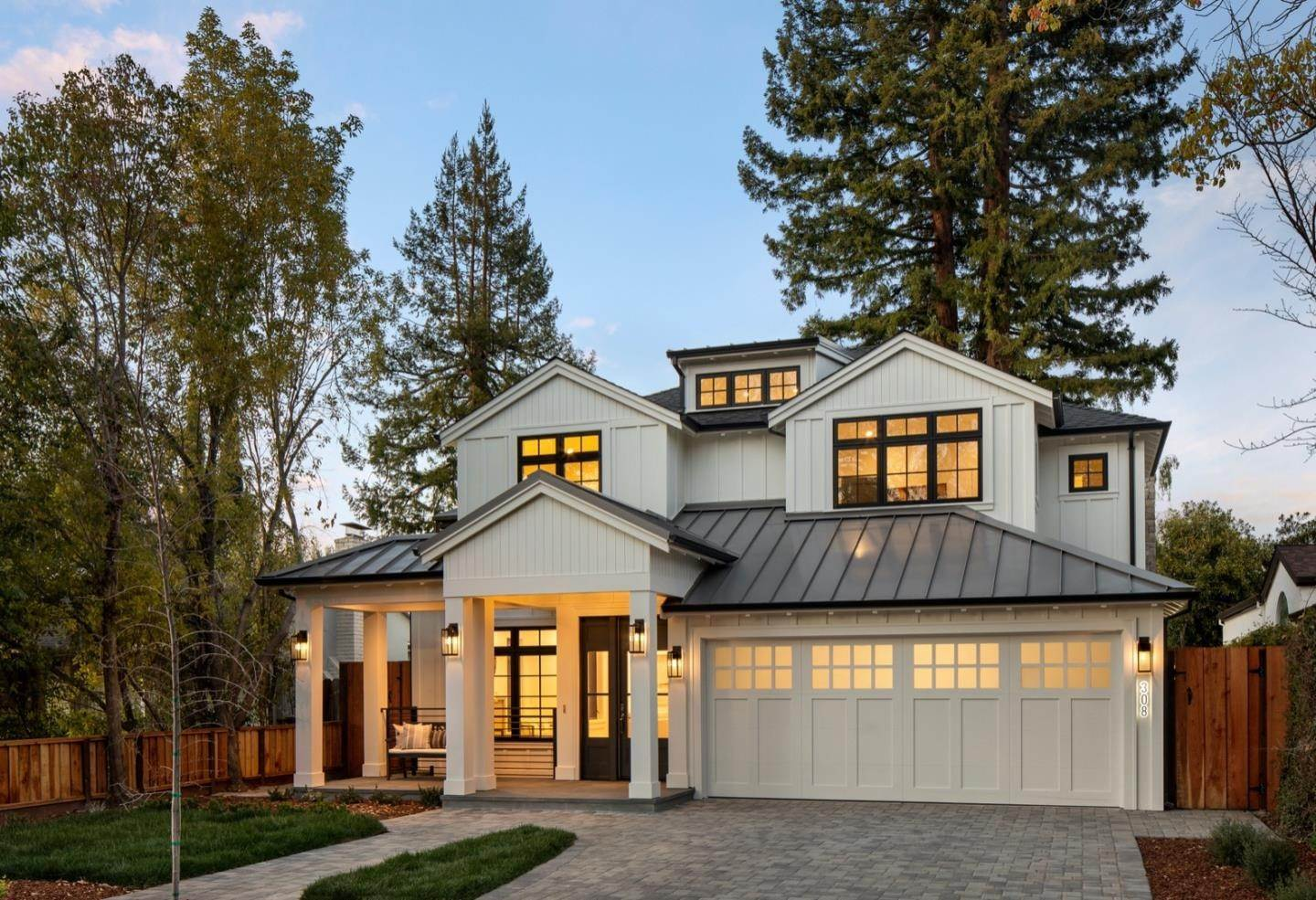 Single Family Homes for Sale at 308 Arbor Road Menlo Park, California 94025 United States