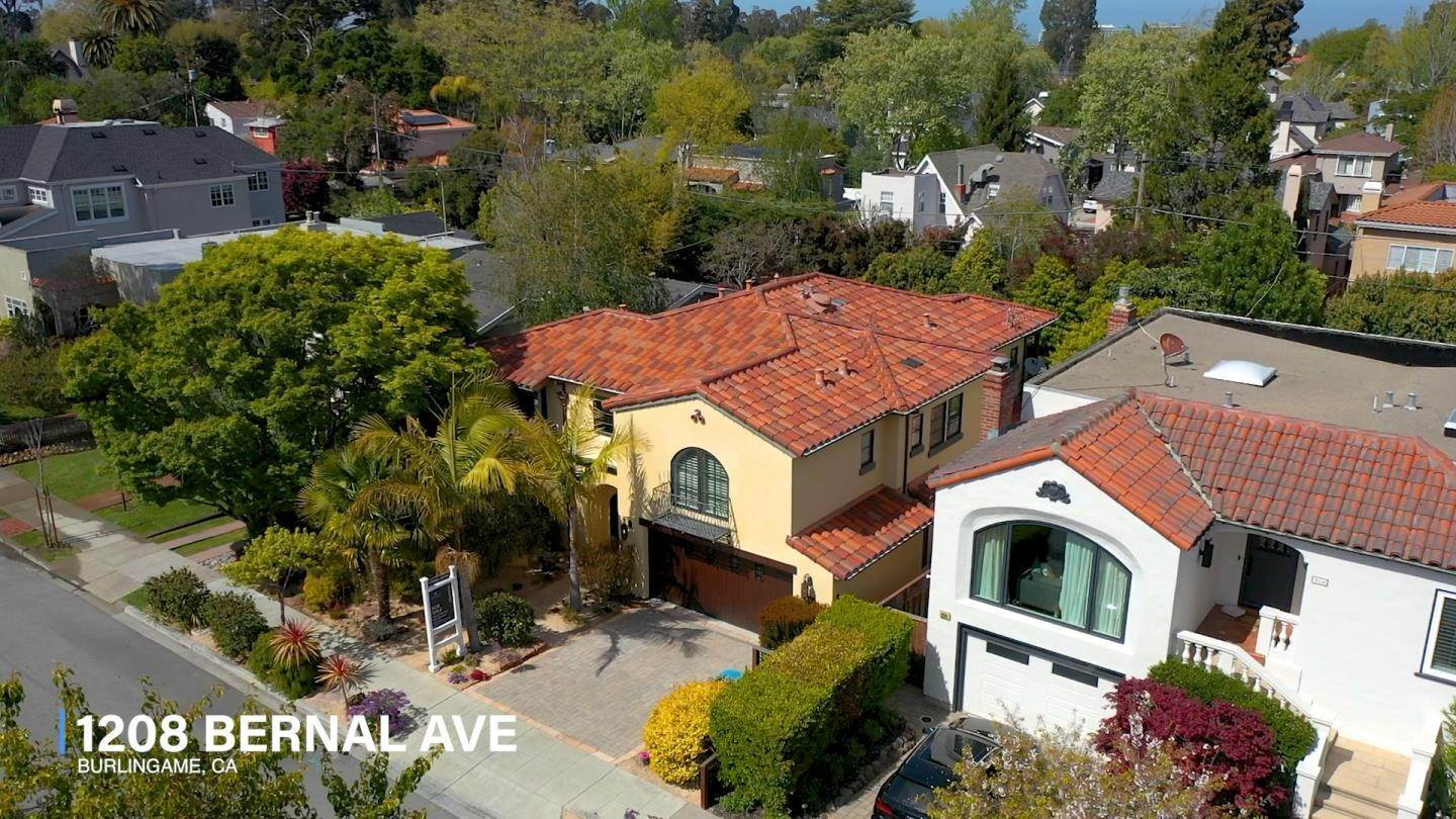 Single Family Homes for Sale at 1208 Bernal Avenue Burlingame, California 94010 United States