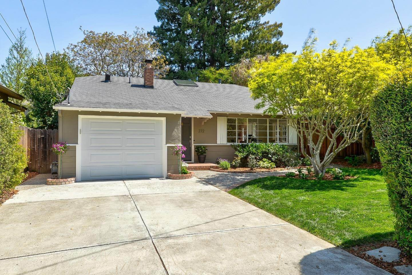 Single Family Homes for Sale at 272 Marmona Drive Menlo Park, California 94025 United States