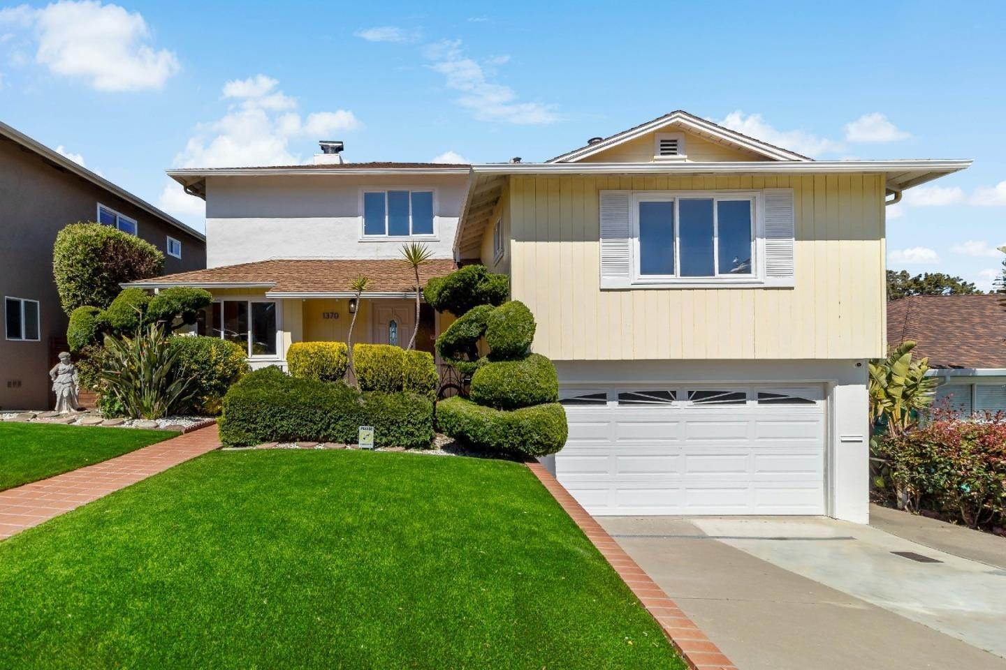 Single Family Homes for Sale at 1370 Claremont Drive San Bruno, California 94066 United States