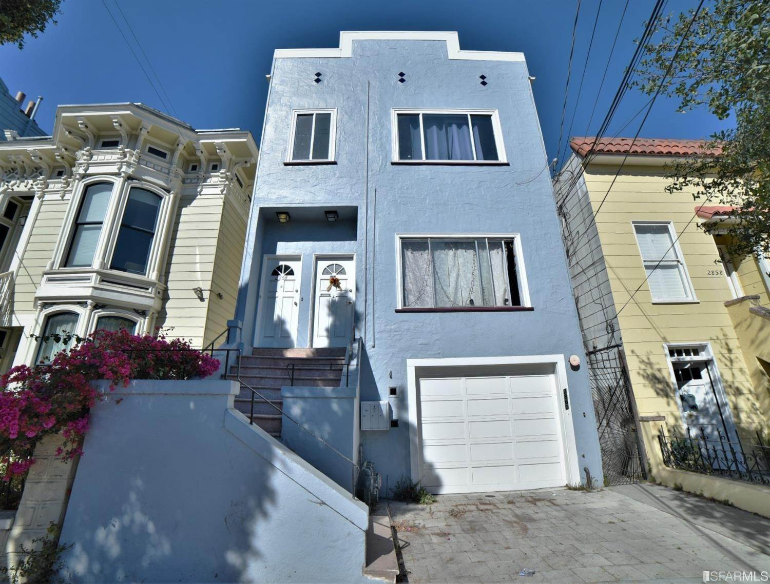 Triplex for Sale at 2860 22nd Street San Francisco, California 94110 United States