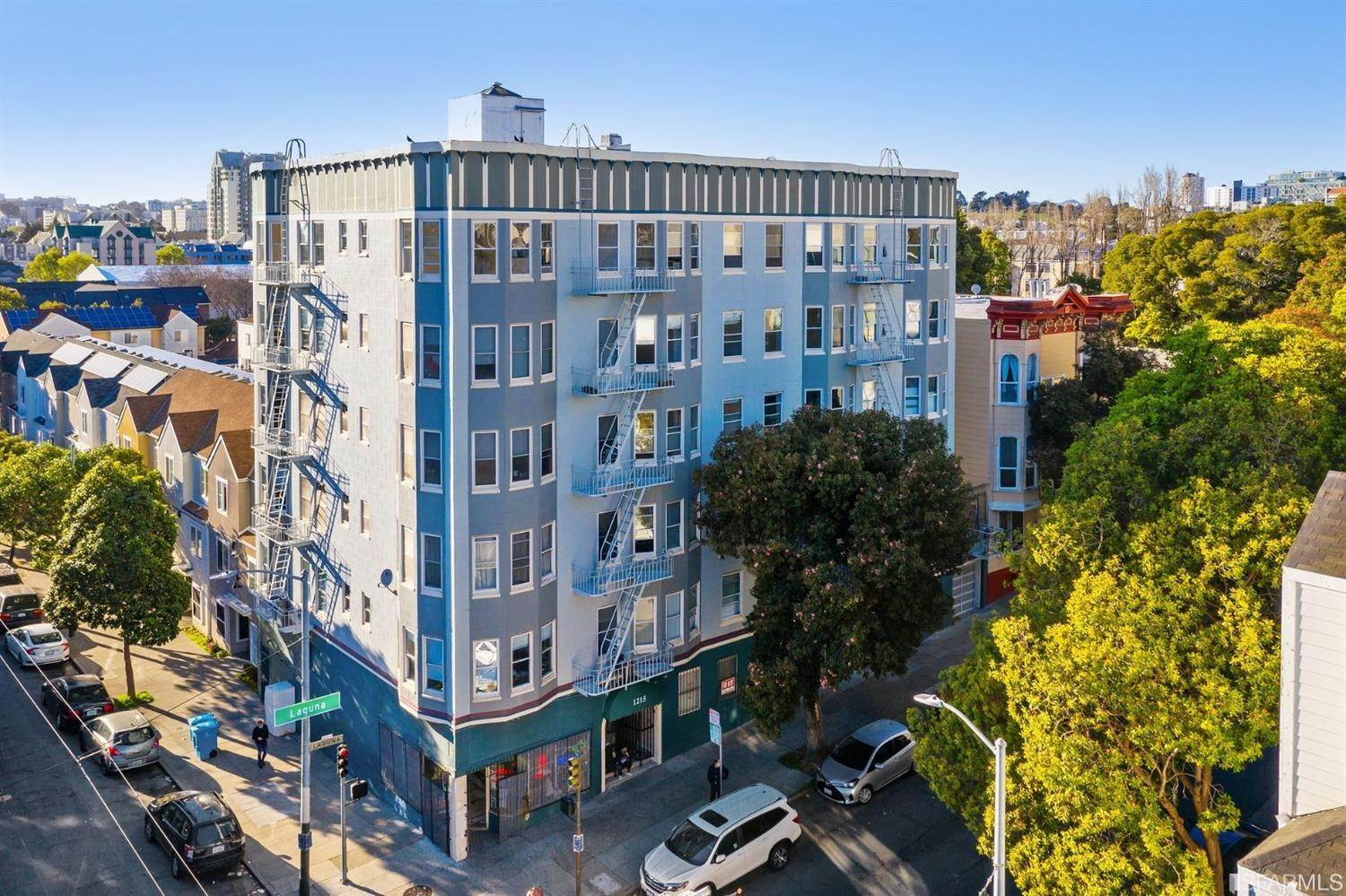 Residential Income for Sale at 1201 Laguna Street San Francisco, California 94115 United States
