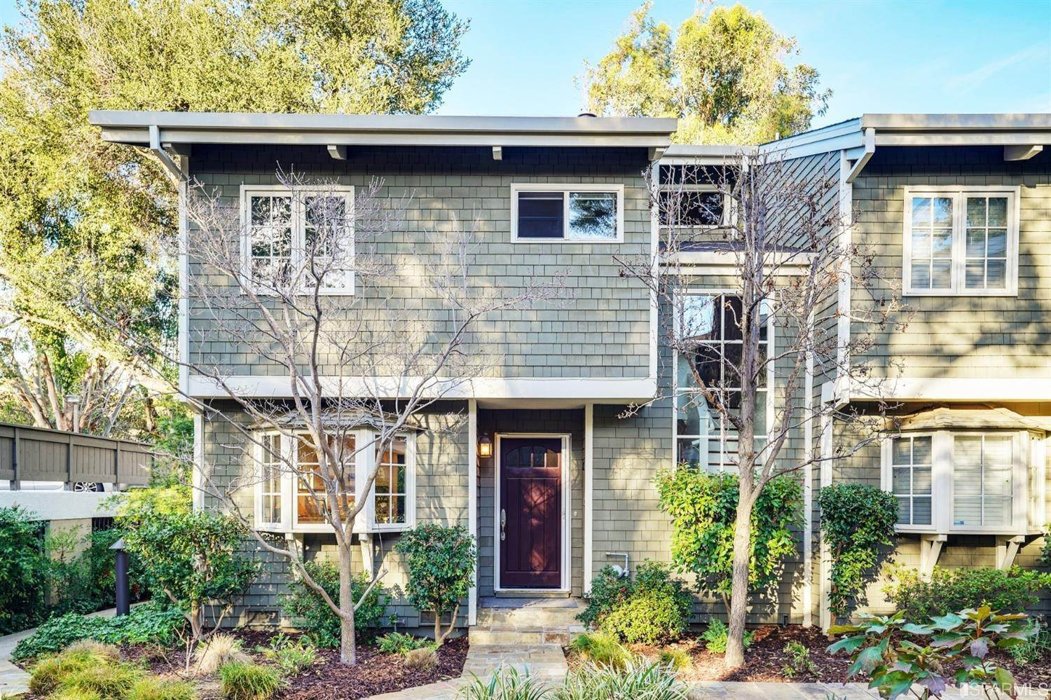 townhouses for Sale at 712 University Drive Menlo Park, California 94025 United States