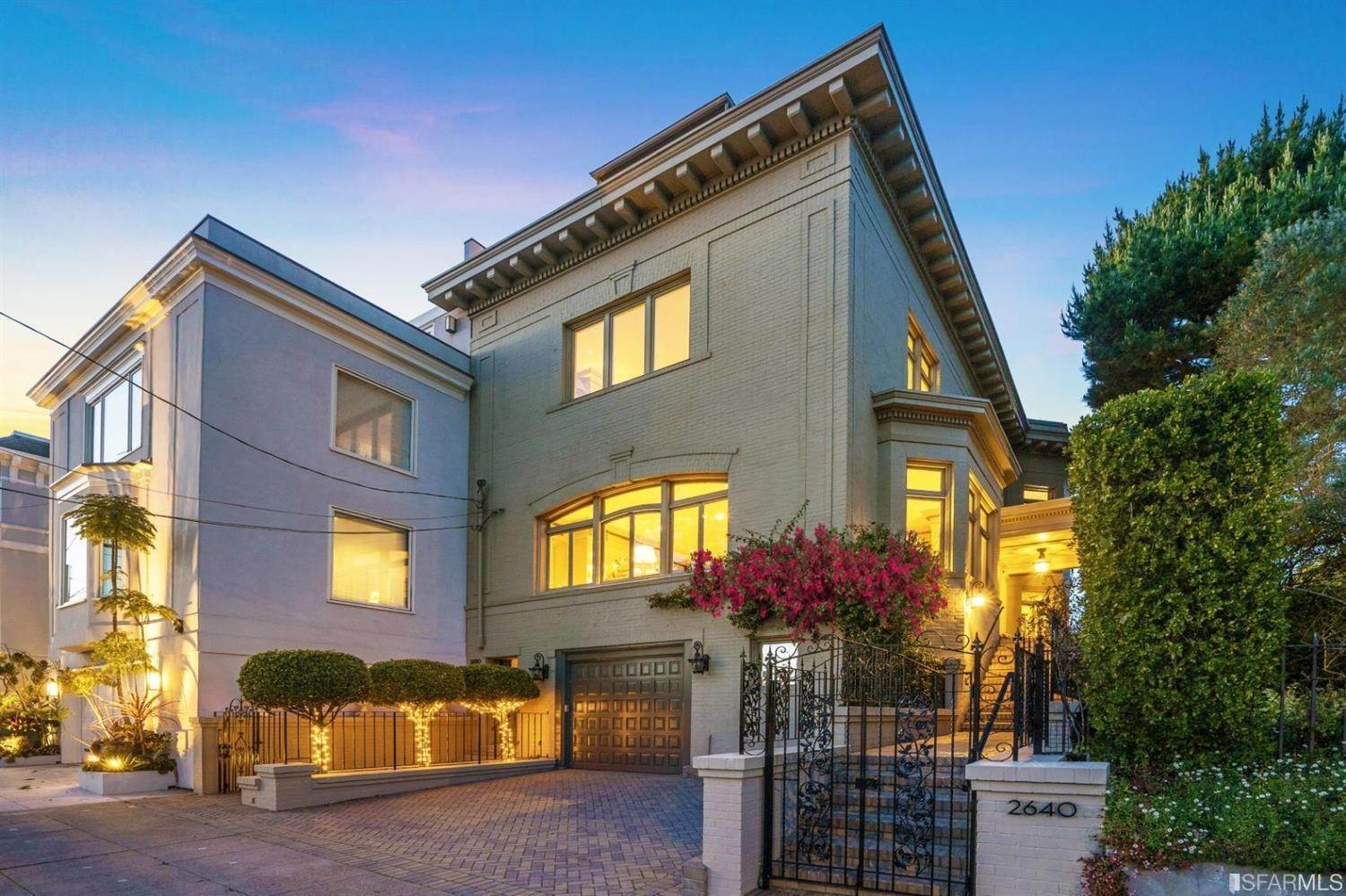 Single Family Homes for Sale at 2640 Jackson Street San Francisco, California 94115 United States