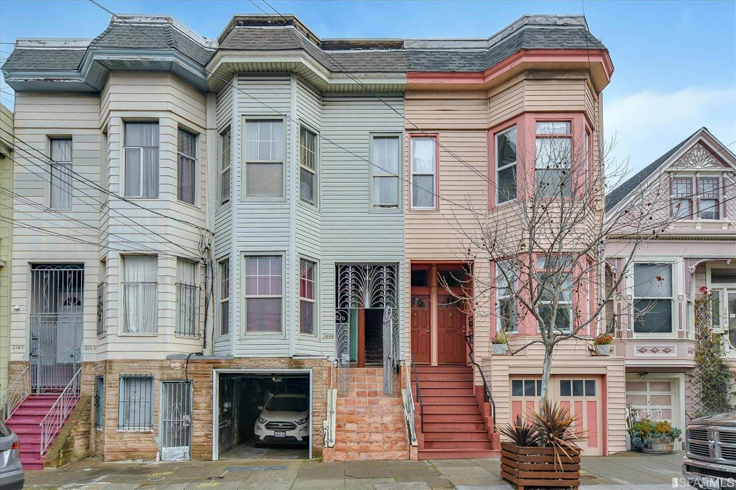 Duplex Homes for Sale at 2664 22nd Street San Francisco, California 94110 United States