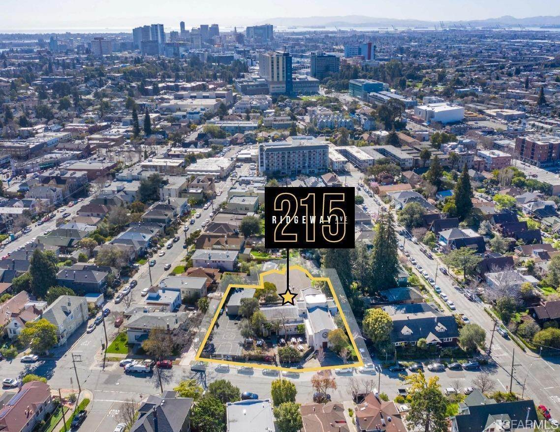 Land for Sale at 215 Ridgeway Avenue Oakland, California 94611 United States