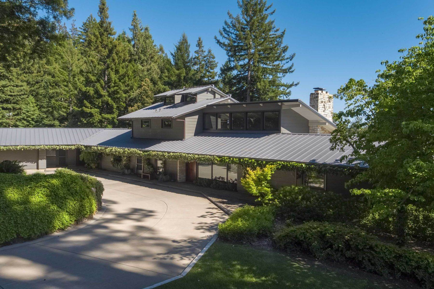 17. Single Family Homes for Sale at Boogie Ranch 1 Thayer Road Santa Cruz, California 95060 United States