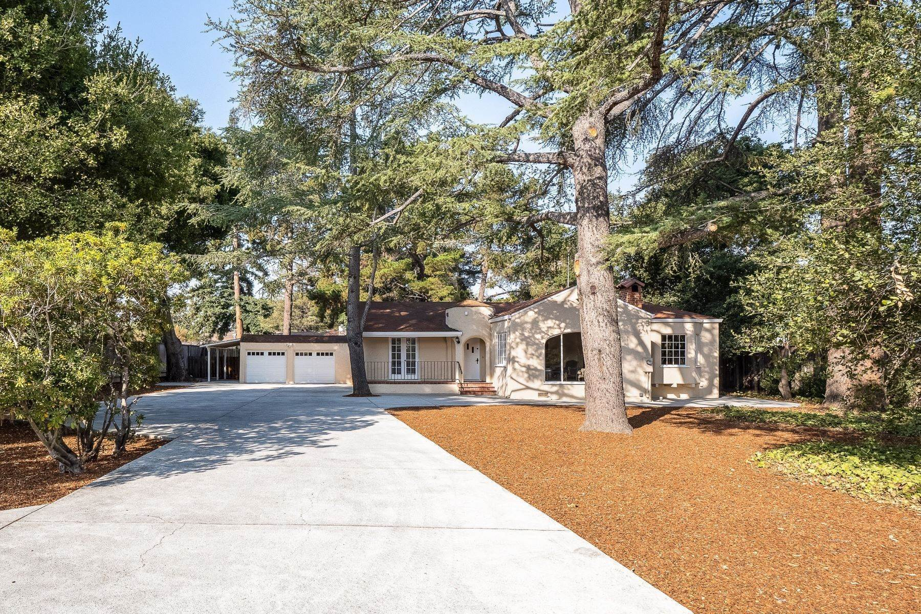 Single Family Homes at Charming Spanish Bungalow on an Expansive Lot 682 N. San Antonio Road Los Altos, California 94022 United States
