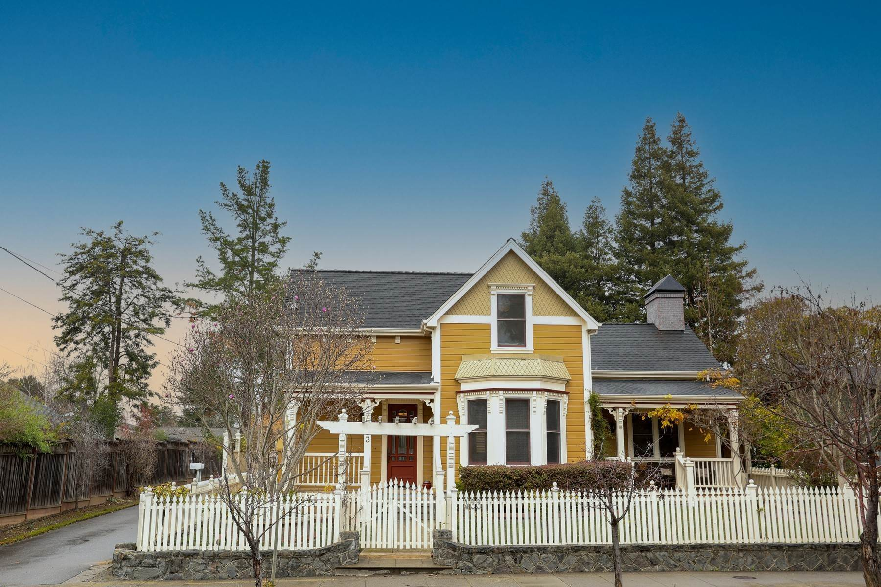 Single Family Homes at Downtown Victorian Elegance 433 North Street Healdsburg, California 95448 United States