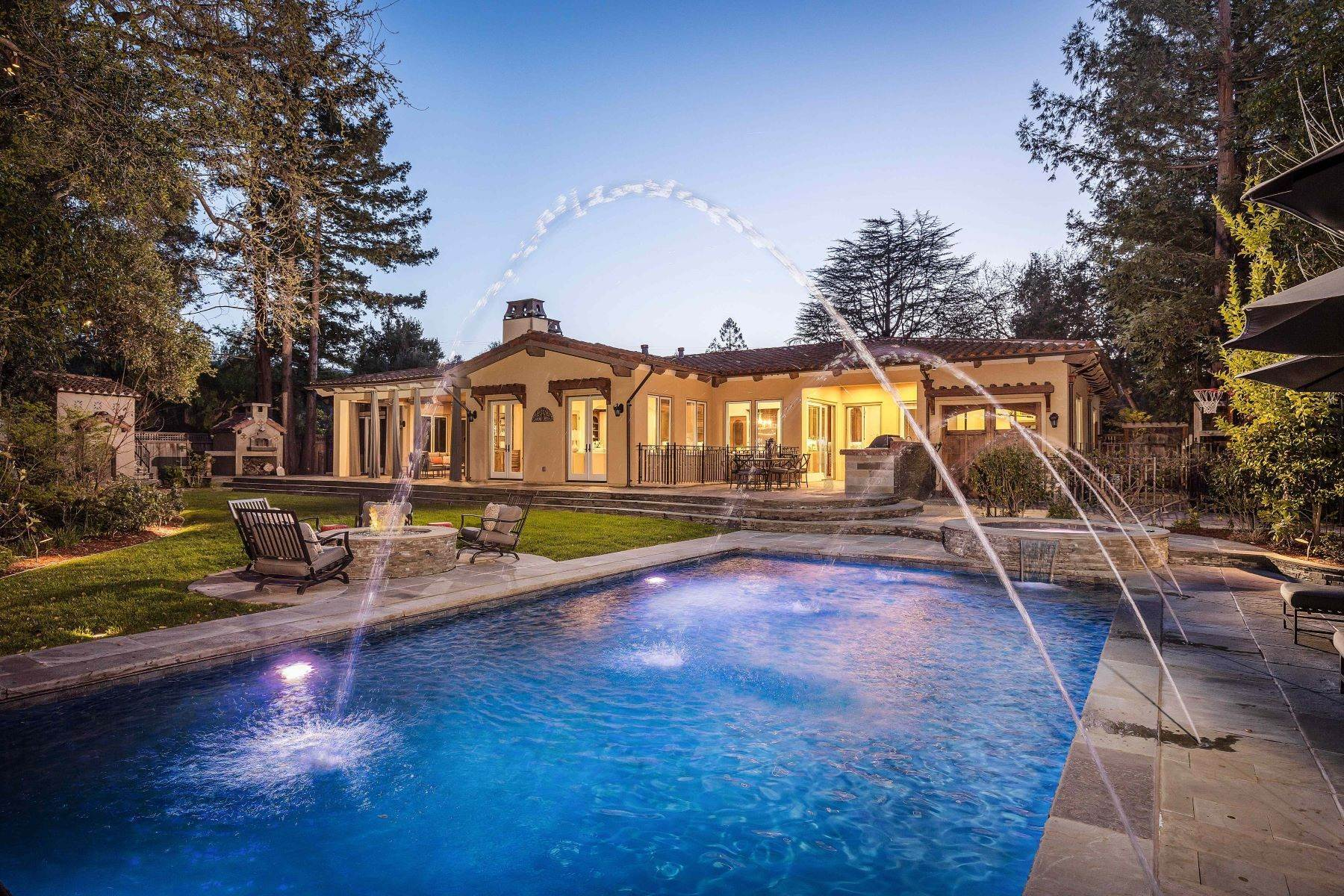 Single Family Homes for Sale at Prime Los Altos Location on a 1/2 Acre Lot with Pool 1061 Parma Way Los Altos, California 94024 United States