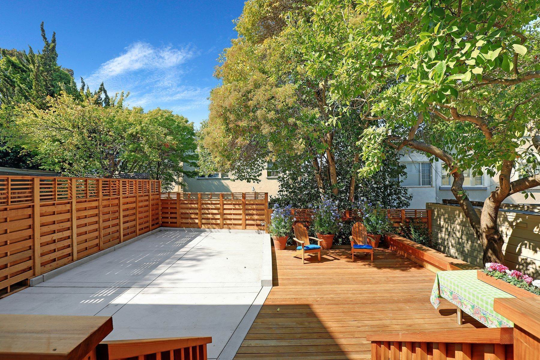 31. Multi-Family Homes for Sale at Inviting Sunlit Duplex 725 Haddon Place Oakland, California 94610 United States