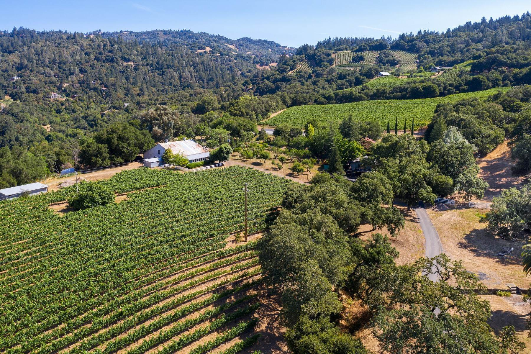 Vineyard Real Estate для того Продажа на Cloverdale Wine Ranch 25900 Highland Ranch Road Cloverdale, Калифорния 95425 Соединенные Штаты