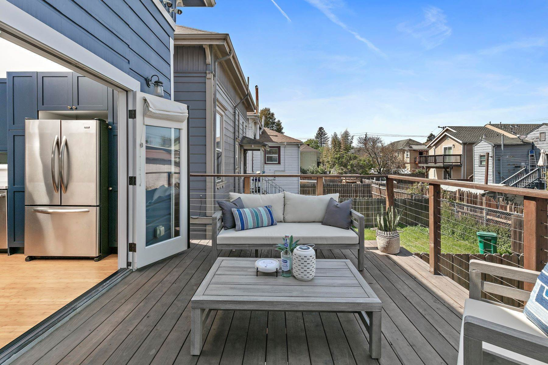 11. Duplex Homes for Sale at 'The Blue House' - Eastlake Style Victorian 1470 12th Street Oakland, California 94607 United States