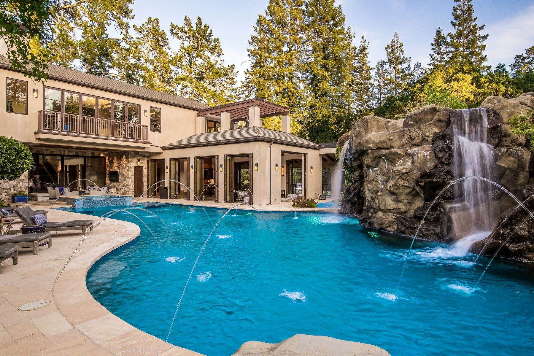 5. Single Family Homes for Sale at Impress With This Signature Estate 3943 Happy Valley Road Lafayette, California 94549 United States