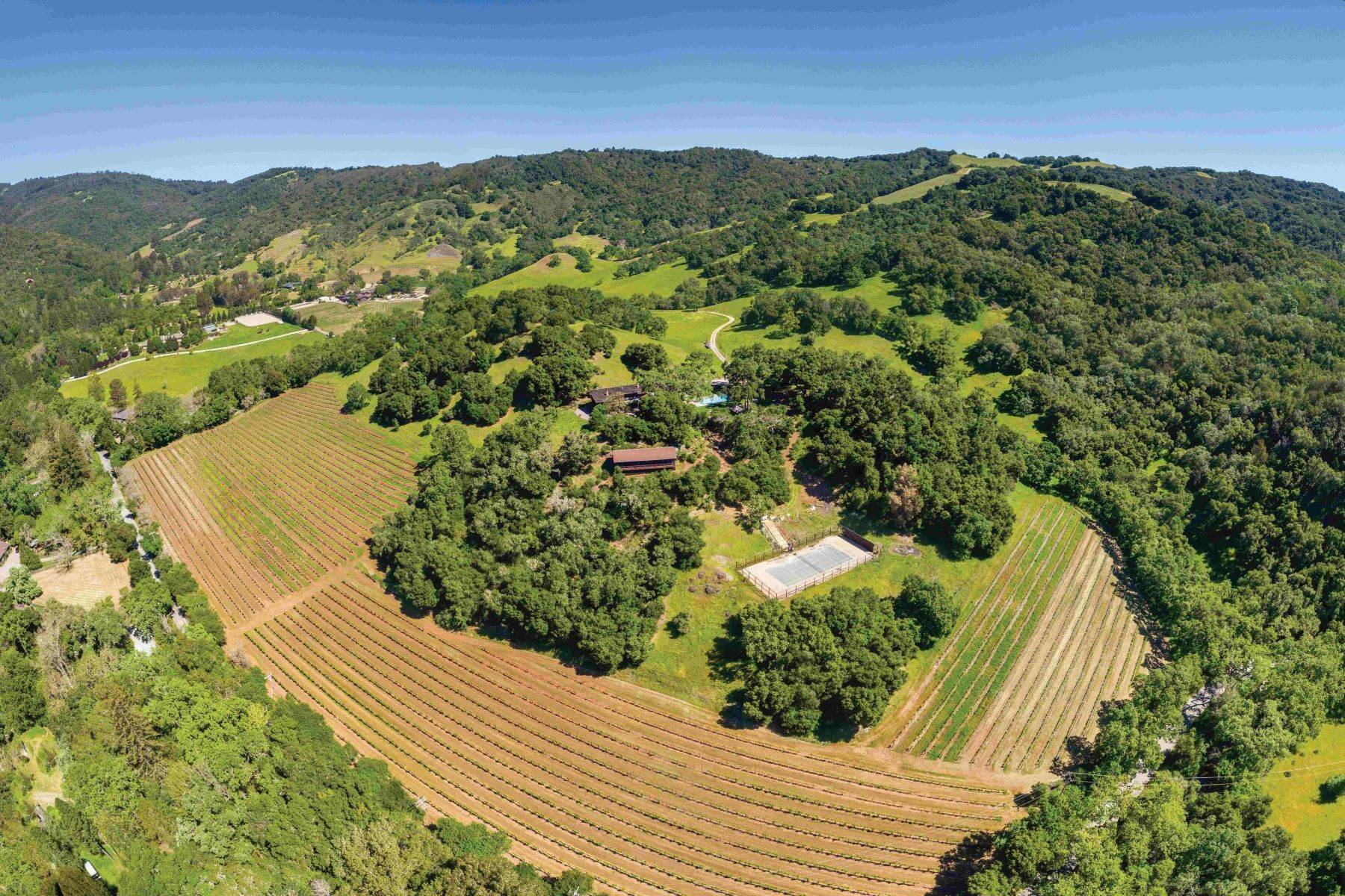 7. Single Family Homes for Sale at Bates Ranch 6545 Redwood Retreat Road Gilroy, California 95020 United States