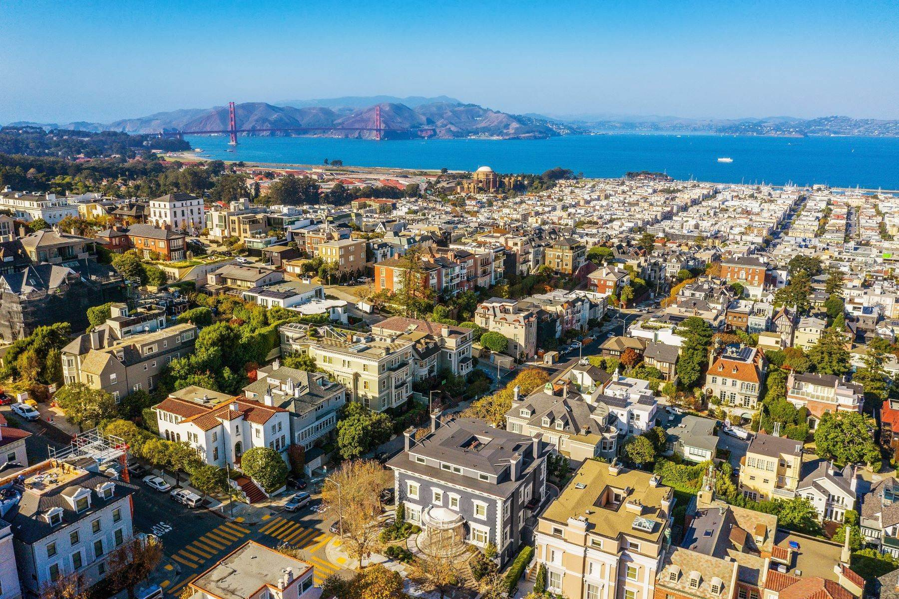 Single Family Homes for Sale at Timeless And Glamorous Pacific Heights Designer Masterpiece 2698 Pacific Avenue San Francisco, California 94115 United States