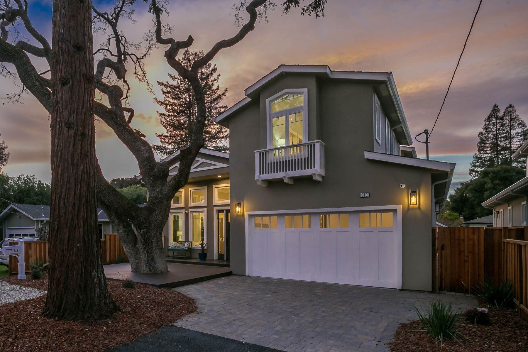 3. Single Family Homes for Sale at Brand New Menlo Park Home 611 12th Avenue Menlo Park, California 94025 United States