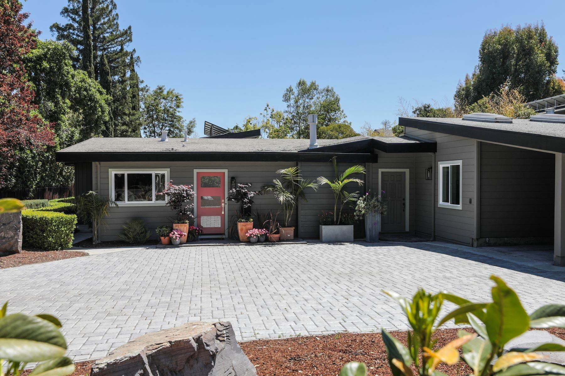 Single Family Homes for Sale at Mid Century Vibes in Menlo Park 2199 Sharon Road Menlo Park, California 94025 United States