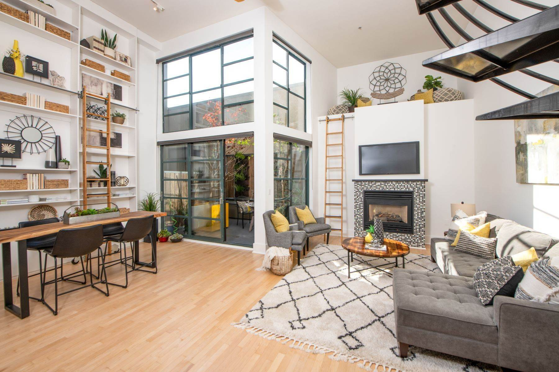 Condominiums at High Ceilings with Epic Two-Story Windows Will Take Your Breath Away! 2600 18th Street, #8 San Francisco, California 94110 United States