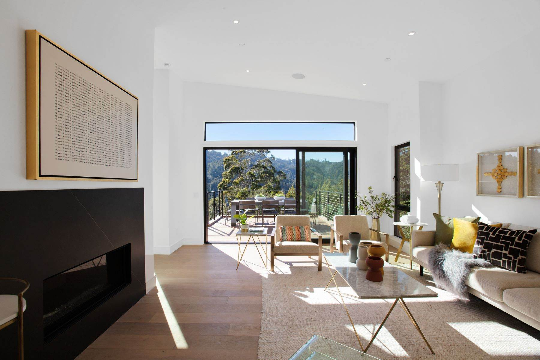 26. Single Family Homes for Sale at Modern New Construction in Mill Valley 315 Tamalpais Avenue Mill Valley, California 94941 United States