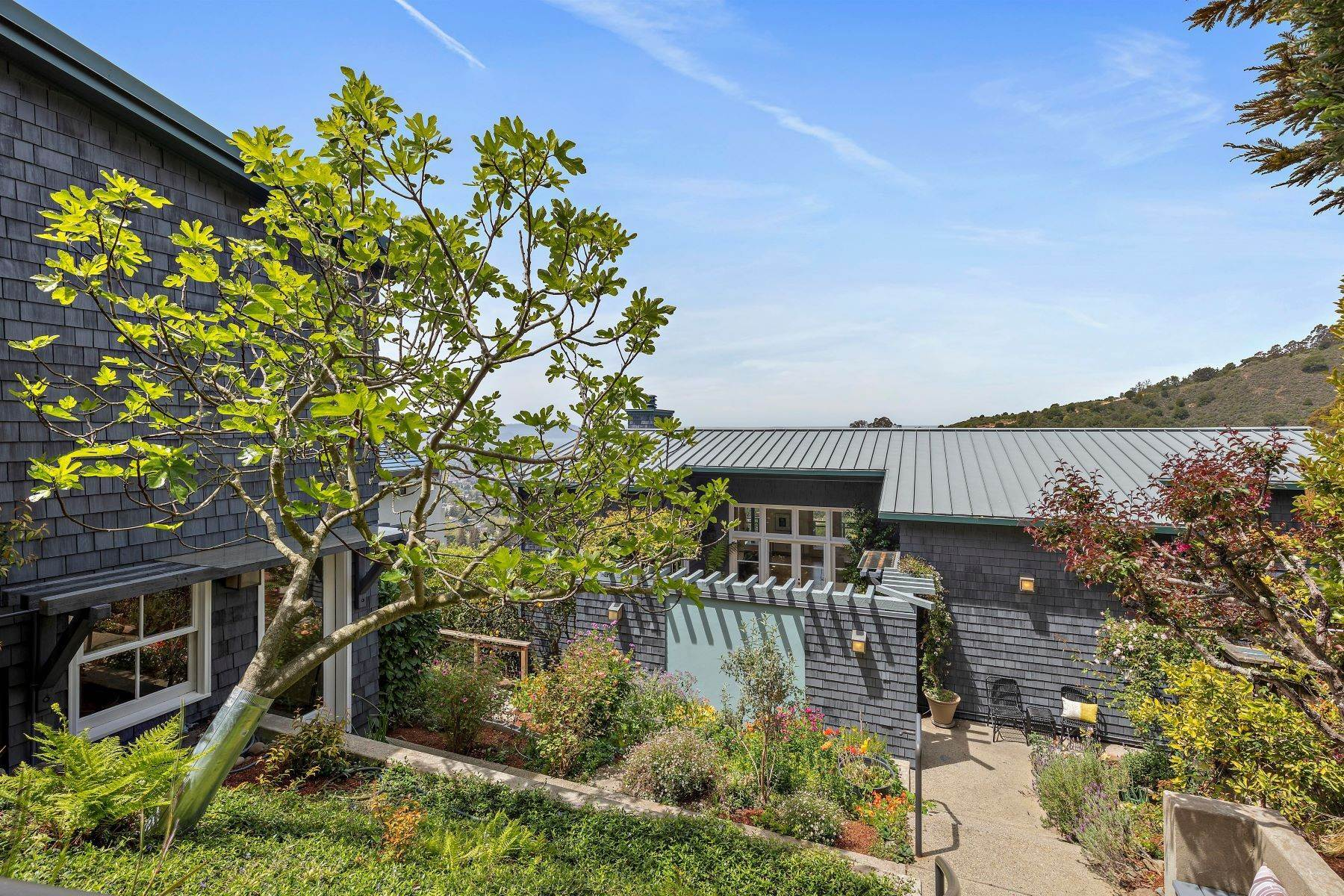 Single Family Homes for Sale at Architecturally Designed Home with Sweeping Bay Views 357 Gravatt Drive Berkeley, California 94705 United States
