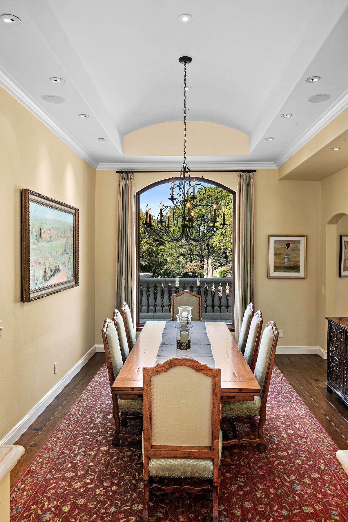 6. Single Family Homes for Sale at Custom Built Mediterranean with Views 4200 Canyon Road Lafayette, California 94549 United States
