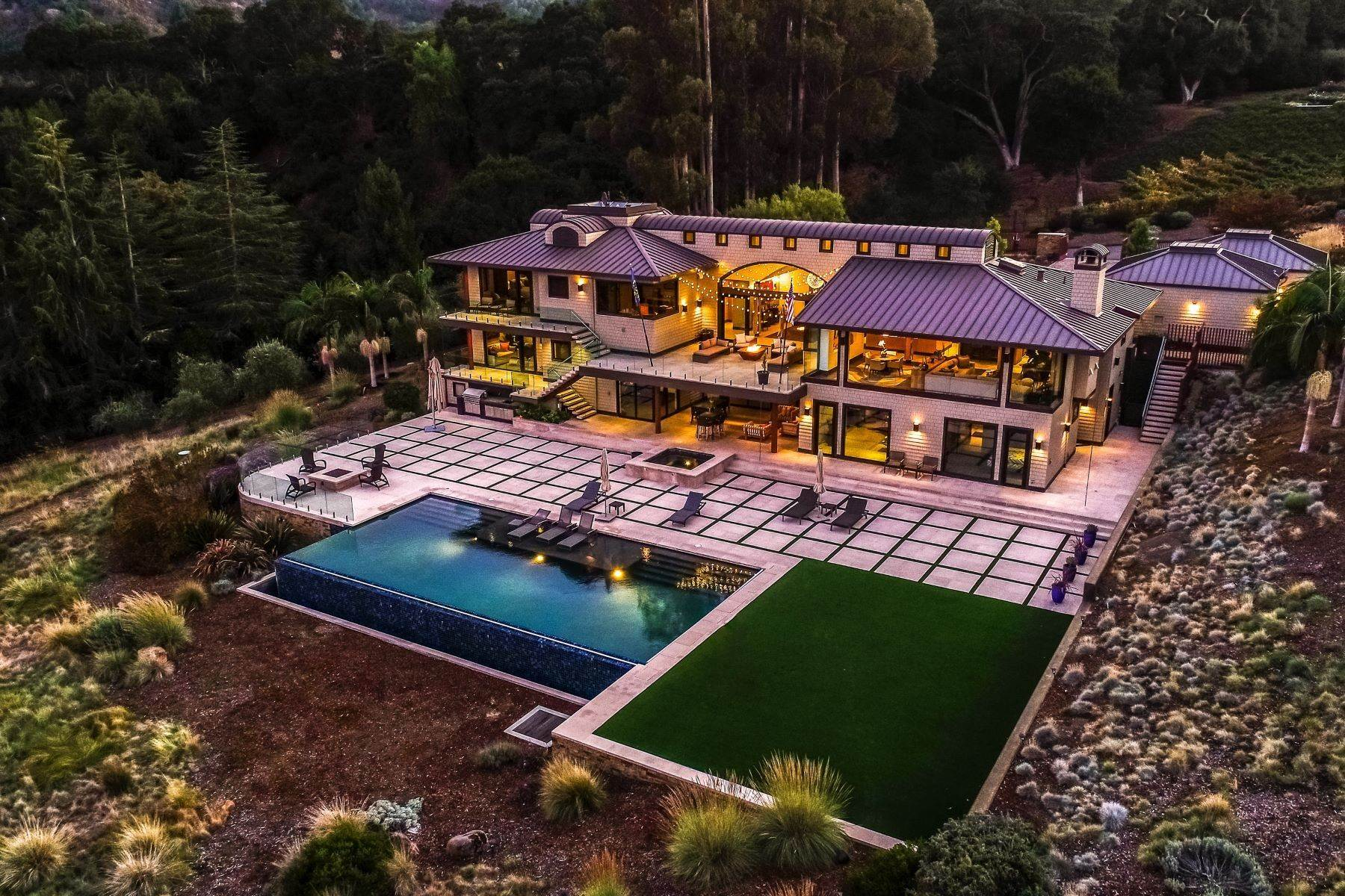 Property for Sale at Modern Vineyard Estate 26301 Silent Hills Lane Los Altos Hills, California 94022 United States
