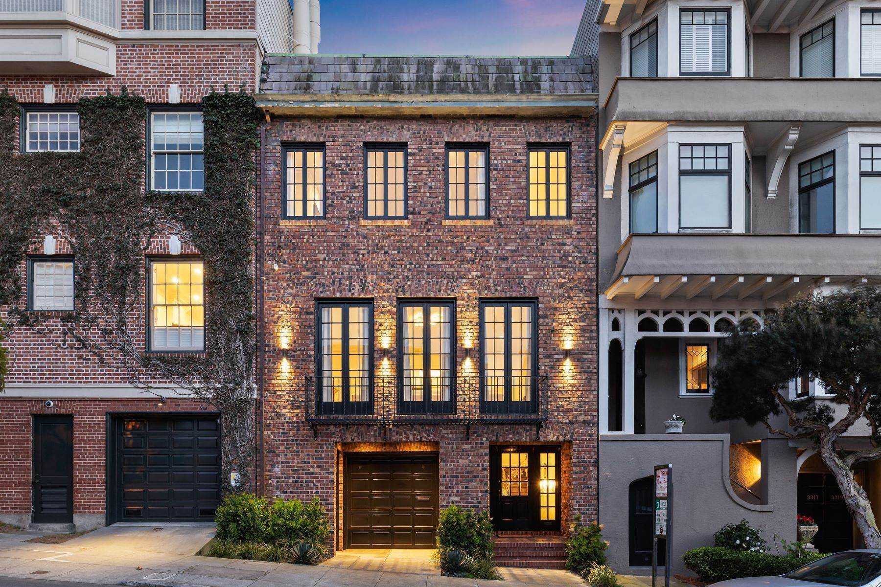 Single Family Homes for Sale at Exceptional Presidio Heights Home 3311 Jackson Street San Francisco, California 94118 United States