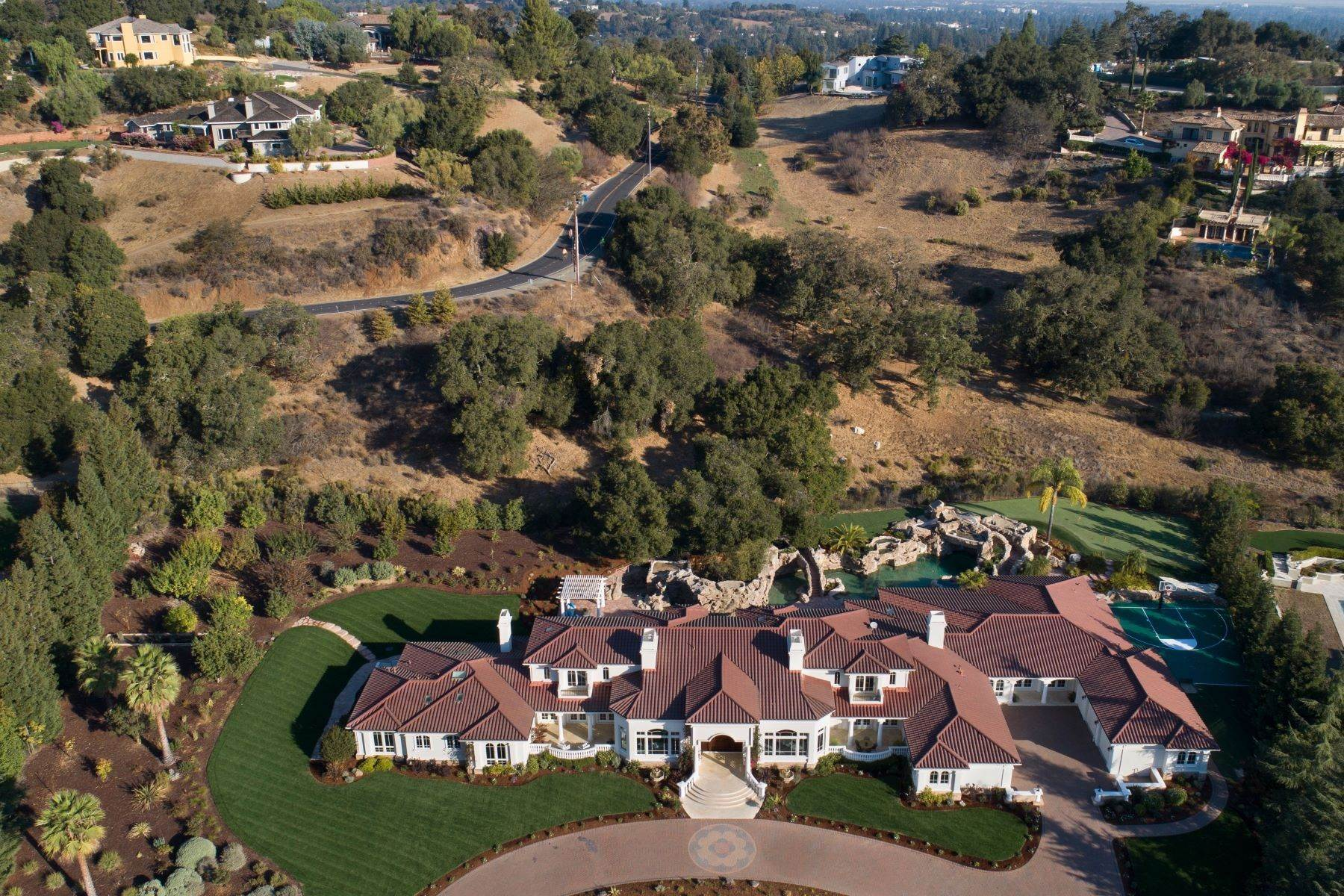 Single Family Homes for Sale at Sprawling Resort-Like Estate 12160 Kate Drive Los Altos Hills, California 94022 United States
